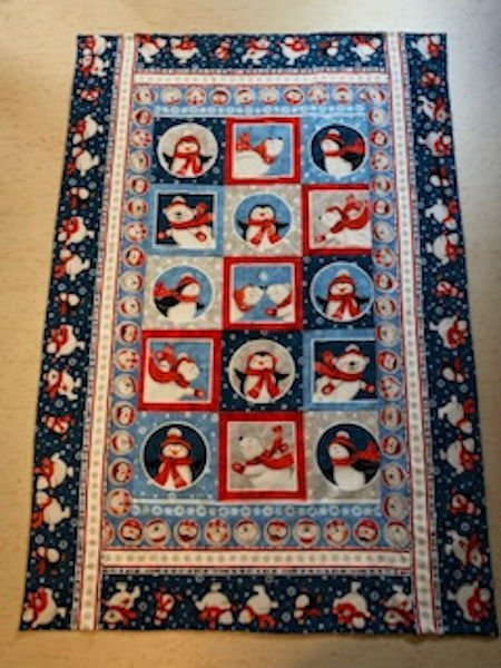 Green-Acres-Quilts-Polar-bear-penguin-baby-cot-quilt-kit-complete
