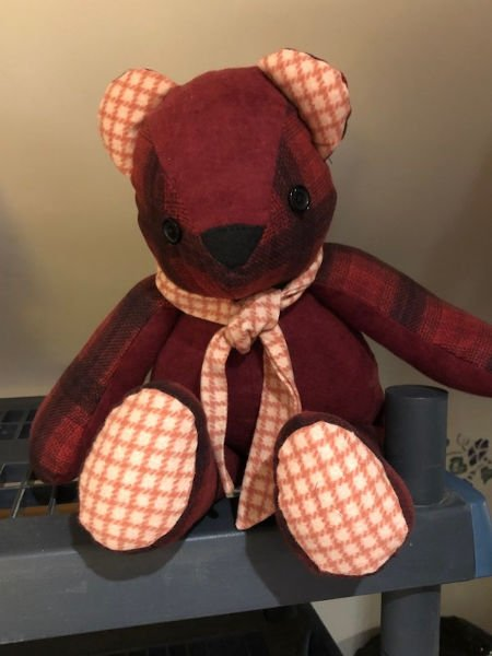Green-Acres-Quilts-Teddy-Bear-In-Flannel-Kit-Complete