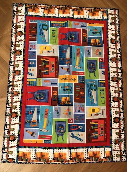 Green-Acres-Quilts-Tool-Time-Kids-baby-cot-quilt-kit