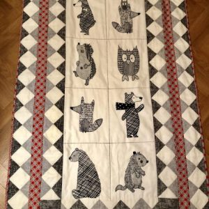 Green-Acres-Quilts-Woodland-Baby-Cot-Quilt-Kit-Complete