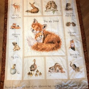 Green-Acres-Quilts-You-Are-Loved-Baby-Cot-Quilt-Kit-Complete