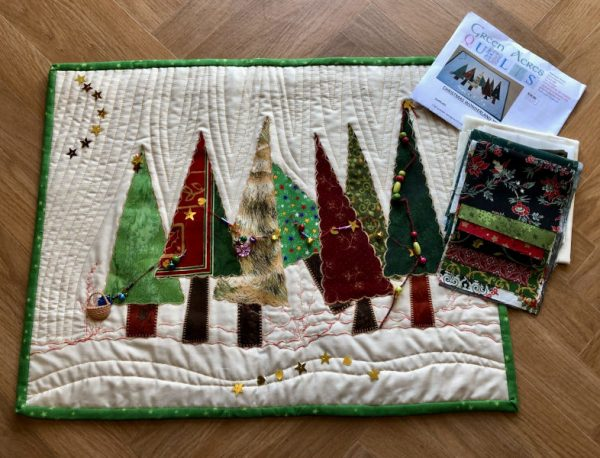 Green-acres-quilts-Christmas-wonderland-trees-kit