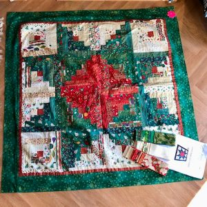 green-acres-quilts-christmas-log-cabin-table-cloth-kit