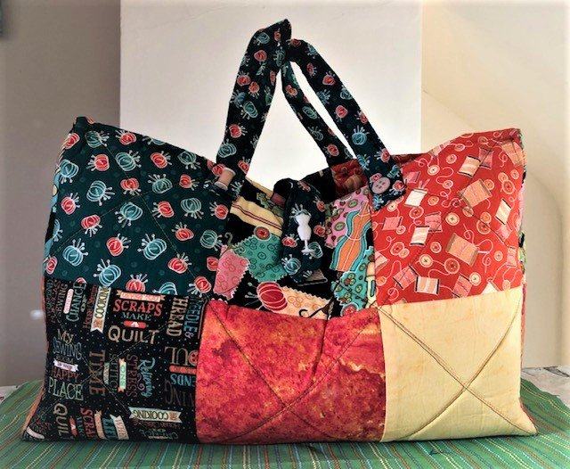 Carry all bag quilt kit